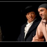"""Jean-Paul ( au centre ) dans """"Transport de femmes"""""""